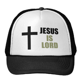 Jesus Is Lord and Savior and the Light Trucker Hat