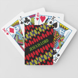 Jesus is Lord Bicycle Playing Cards
