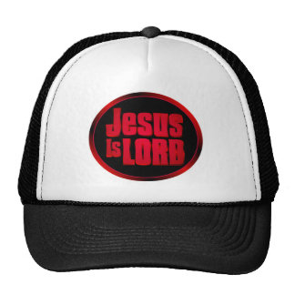 Jesus is Lord Christian gift design Mesh Hat