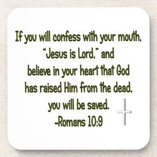 Jesus Is Lord Coaster Set