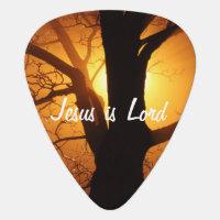 Jesus is Lord Guitar Pick