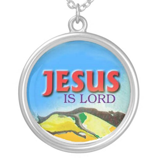 Jesus is Lord necklace