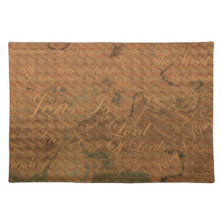 Jesus Is Lord Placemats