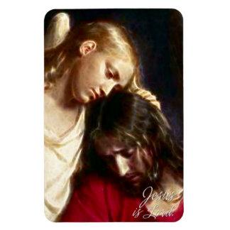 Jesus is Lord Premium Magnet