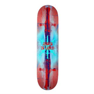 Jesus is Lord Sword Skateboard