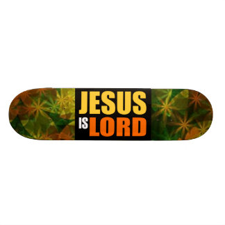 Jesus is Lord YO Skate Deck