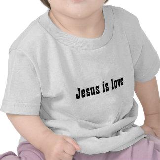 Jesus is love baby shirt