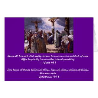 Jesus is Love Card
