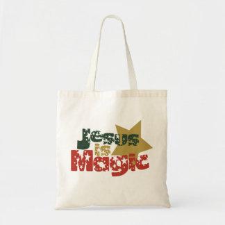 Jesus is Magic Tote Bags