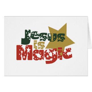 Jesus is Magic Card