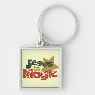 Jesus is Magic Keychain