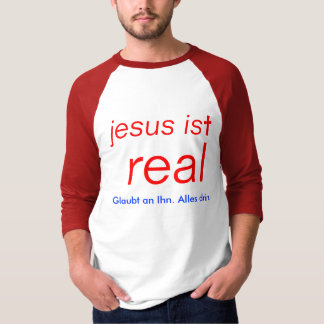 jesus is material - believes in it. Everything in T-Shirt