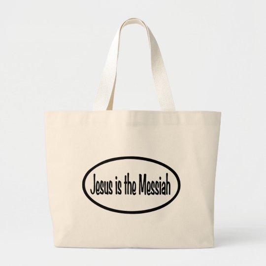 Jesus is Messiah Large Tote Bag