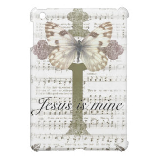 Jesus is Mine Butterfly iPad Case