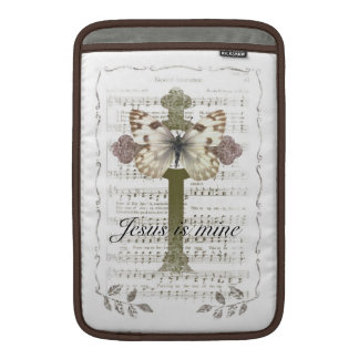Jesus is Mine Butterfly iPad Cover