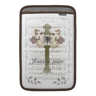 Jesus is Mine Butterfly iPad Cover MacBook Air Sleeve
