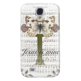 Jesus is Mine Butterfly iPhone 3 Case