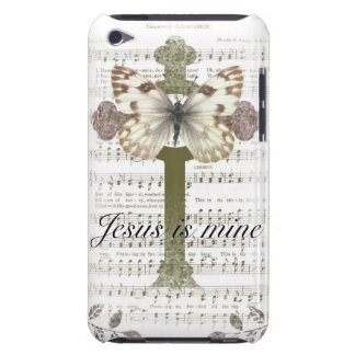 Jesus is Mine Butterfly iPod Case iPod Touch Cover