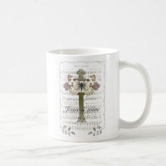 Jesus is Mine Butterfly Mug