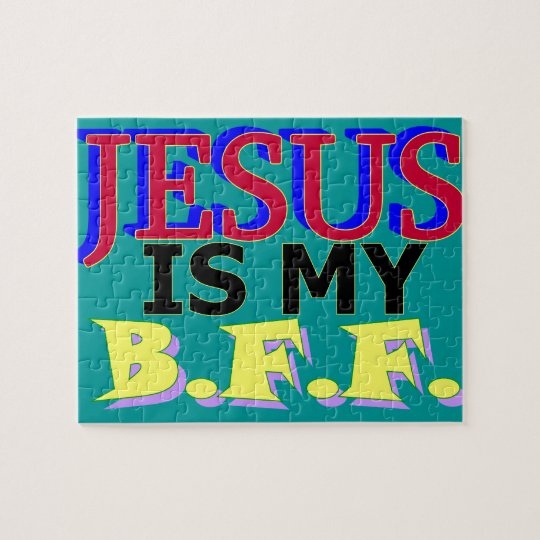Jesus is my BFF Puzzle