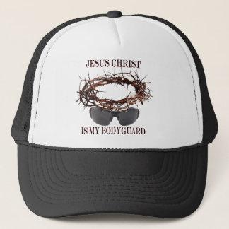 Jesus is my Bodyguard Trucker Hat