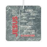 Jesus is my Everything Word Cloud Air Freshener