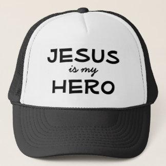 Jesus Is My Hero Cap
