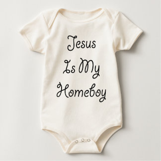 Jesus Is My Homeboy Baby Bodysuit