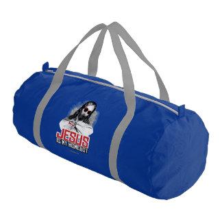 Jesus is my Homeboy Gym Duffle Bag
