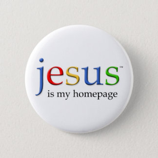 Jesus is My Homepage Button