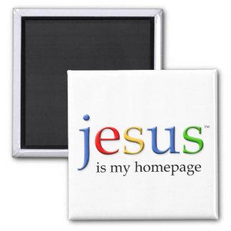 Jesus is My Homepage Magnet