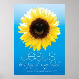 JESUS IS MY JOY - Christian Religious Posters