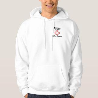 Jesus is my life saver hoodie