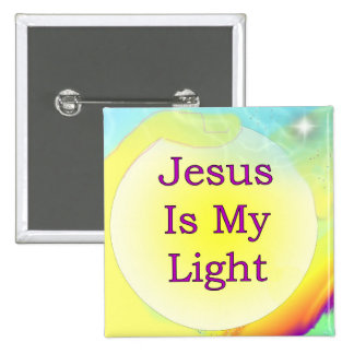 Jesus Is My Light Buttons