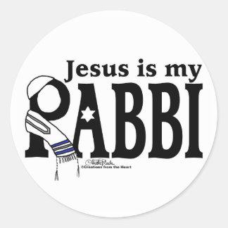 Jesus is my RABBI Round Sticker