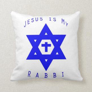 Jesus is my Rabbi Throw Pillow
