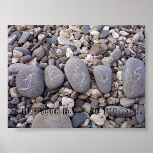 Jesus is My Rock. Poster
