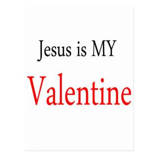 Jesus is my Valentine Postcard