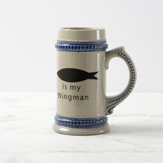 Jesus Is My Wingman Beer Stein