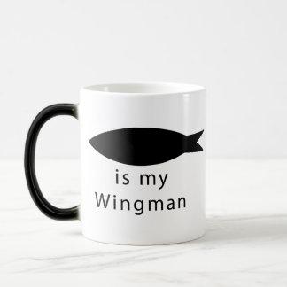 Jesus Is My Wingman Magic Mug