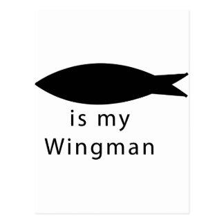 Jesus Is My Wingman Postcard