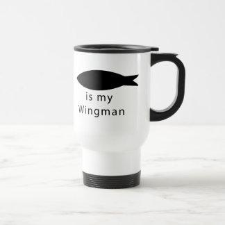 Jesus Is My Wingman Travel Mug