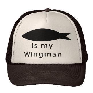 Jesus Is My Wingman Trucker Hat