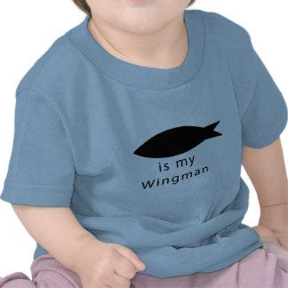 Jesus Is My Wingman Tee Shirts