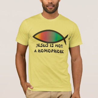 Jesus Is Not a Homophobe 2 T-Shirt