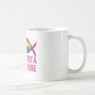 Jesus Is Not A Homophobe Classic White Coffee Mug