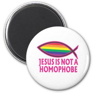 Jesus Is Not A Homophobe Fridge Magnets