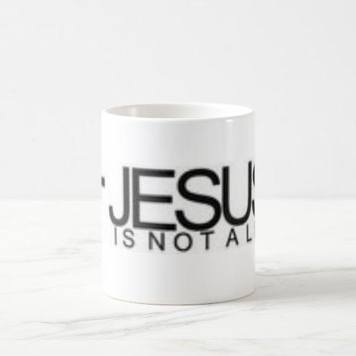 __Jesus_Is_Not_A_Lie_by_JohnnyMayhem Taza Básica Blanca