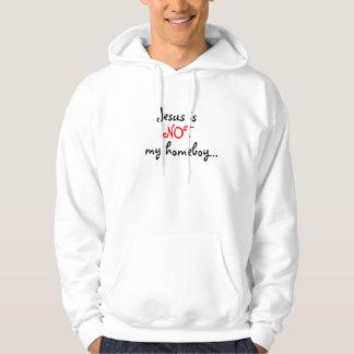 Jesus is , NOT , my homeboy... Hoodie