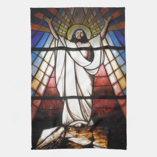 Jesus is Our Savior Hand Towel